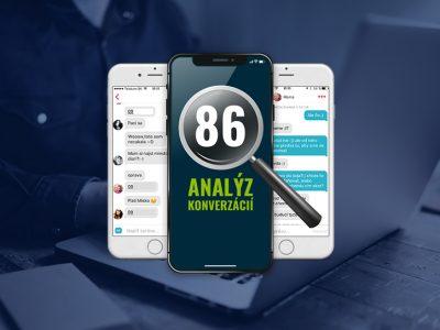 86 analýz konverzácií